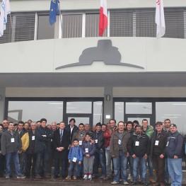 Alessandrini vendita macchine-agricole Foto visita concessionario Agricento piceno