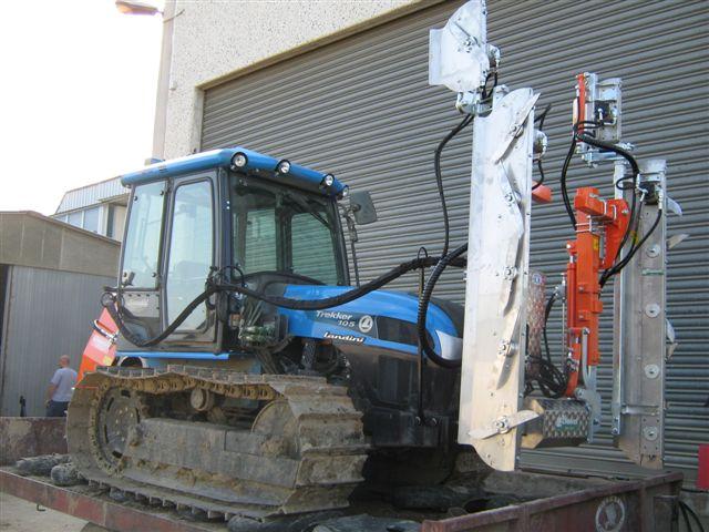 Trattrice landini trekker cm 105 e cimatrice rinieri doppia for Sostituzione filtro aria cabina 2014 f150