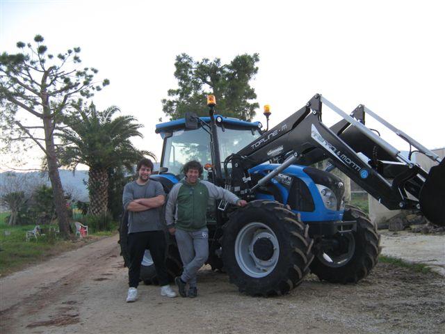 CONSEGNA trattore Landini 5 H 110 DT cl. CAPRIOTTI GIUSEPPE 001