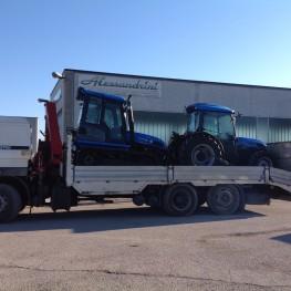 Consegna trattori Landini TREKKER C105 e LANDINI REX 100 GT TOP