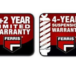 Garanzia prodotti Ferris 4 anni sulle sospensioni