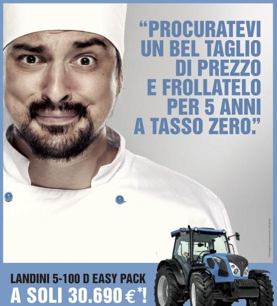 Promozione Tasso 0 Trattori Landini 5 100 D
