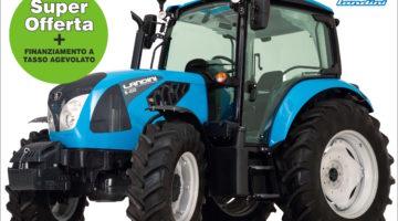 trattori landini offerta speciale
